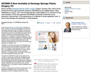 plastic, surgeon, surgery, facial, rejuvenation, saratoga, springs, ny